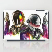 daft punk iPad Cases featuring Daft punk  by beart24