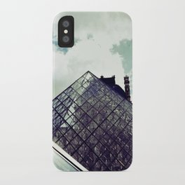 Louvre Pyramid I iPhone Case