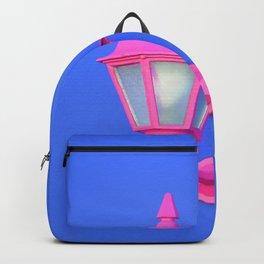 Pink Lamp Retro Backpack