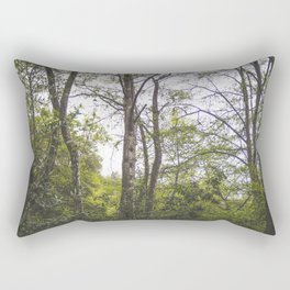In The Woods Rectangular Pillow