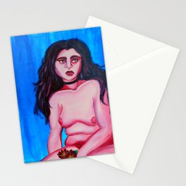 We Feel No Emotion As We Spiral Stationery Cards