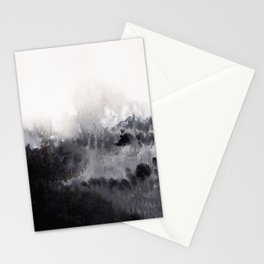 Watercolor abstract landscape 16 Stationery Cards