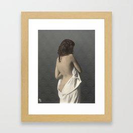 Ania, uncovered Framed Art Print