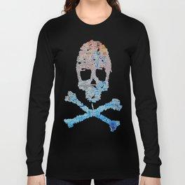 Dead Frost Skulls (Lighter) Long Sleeve T-shirt