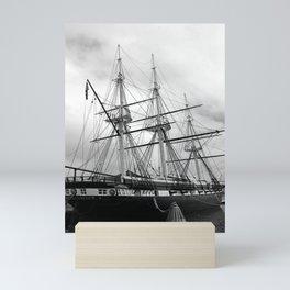 A Sail Warship The USS Constellation Mini Art Print