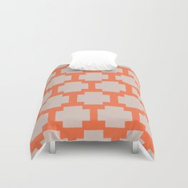 Reverse Cross Duvet Cover
