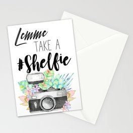 Lemme Take a #Shelfie Stationery Cards