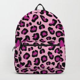 3af665a816fb Leopard-Pink+Black+Purple Backpack