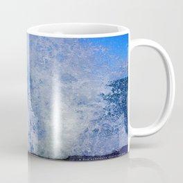 Lake Michigan Natural Fountains #3 (Chicago Waves Collection) Coffee Mug