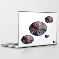 circle Laptop & iPad Skins featuring circle by  Agostino Lo Coco