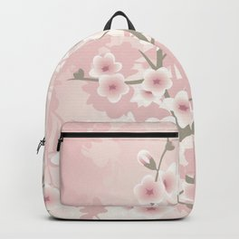Vintage Floral Cherry Blossom Backpack