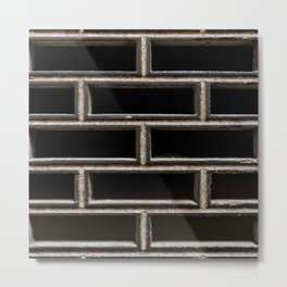 The Grille Metal Print