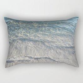 Water Photography Beach Rectangular Pillow