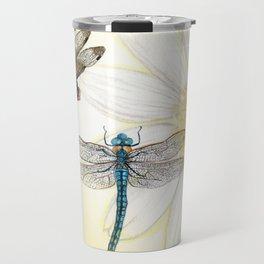 Dragonfly Daisy Travel Mug