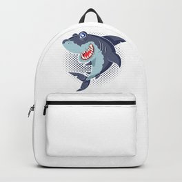 Happy Shark Backpack
