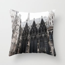 St. Stephen's cathedral Throw Pillow