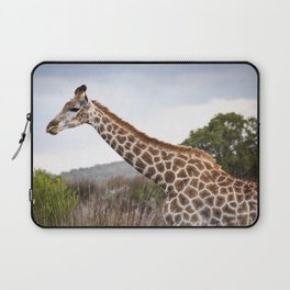 Beautiful close-up of Giraffe in South Africa Laptop Sleeve