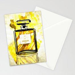 Parfum Gold Stationery Cards