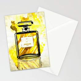 Parfum Gold Stationery Cards