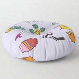 Aztec Writing Floor Pillow