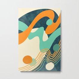 Waves 02 Metal Print