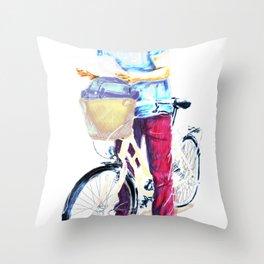 Turista II Throw Pillow