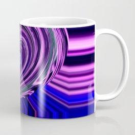 BLUE PURPLE ABSTRACTION Coffee Mug