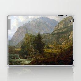 Johan Christian Dahl View of Fortundalen Laptop & iPad Skin