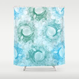Count to 3 Shower Curtain