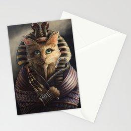 King Tutankhameow Stationery Cards