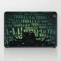 lovecraft iPad Cases featuring Lovecraft Shoggoth by Steve Santiago