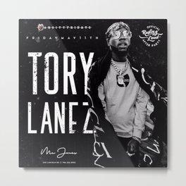 Ⓔⓢⓣⓔⓥ  é⃝ⓩ ⓁⓁⒸ Society6 - Tory Lanez - New Toronto - Hip-Hop - Rap - Society6 - Metal Print