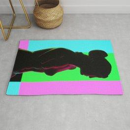 Venus De Milo (Color Bars) Rug