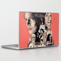 bill Laptop & iPad Skins featuring Kill Bill by RJ Artworks