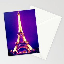 Parisian Purple Stationery Cards