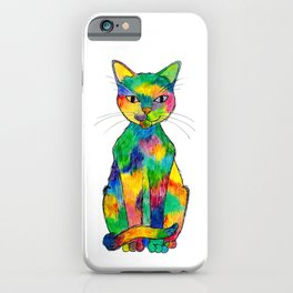 Rainbow Cat iPhone Case