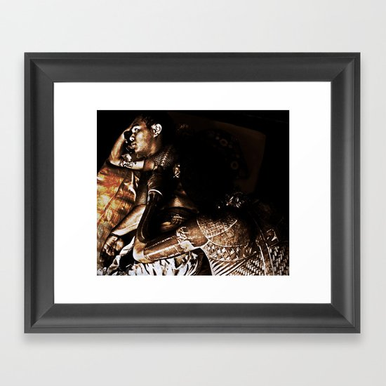 More than fashion Framed Art Print