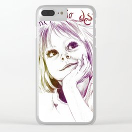Crearé mi propio destino Clear iPhone Case
