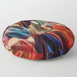 Pashmina Shawls Floor Pillow