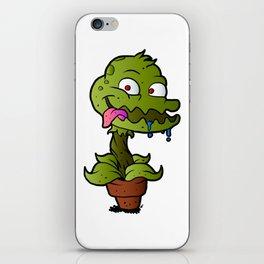 Carnivorous plant. iPhone Skin