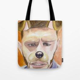 Jensen Ackles, watercolor painting Tote Bag