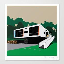 Rose Seidler House Seidler Modern Architecture Canvas Print