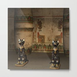 Egypt temple Metal Print