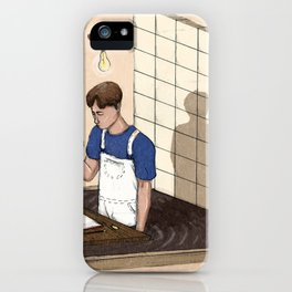 Creative limbo iPhone Case