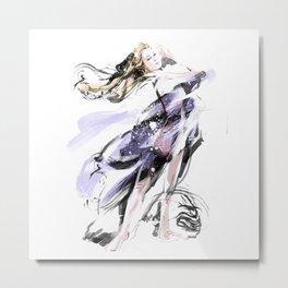 Fashion Painting #3 Metal Print