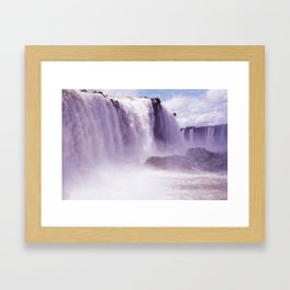 Travel Series: Iguazu Falls Framed Art Print