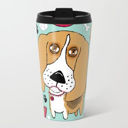 Beafus the Bad Boy Beagle Travel Mug