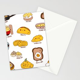 Get eggy with it Stationery Cards