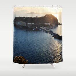Seascape by Giada Ciotola Shower Curtain