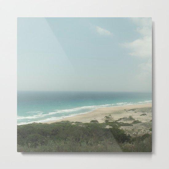 BEACH DAY 40 Metal Print